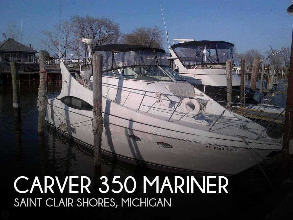 Canceled carver 350 mariner boat in saint clair shores for Outboard motors for sale in michigan
