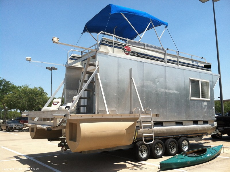 1992 Tracker Boats boat for sale, model of the boat is 24 Custom Houseboat & Image # 21 of 40
