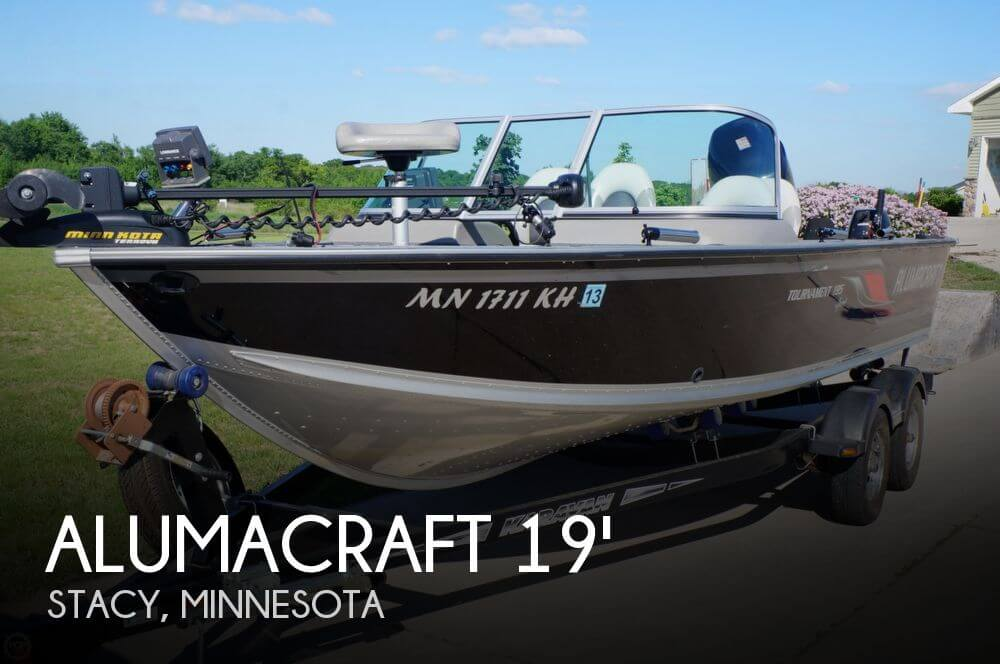 Sold alumacraft 195 tournament sport boat in stacy mn for Minnesota fishing charters