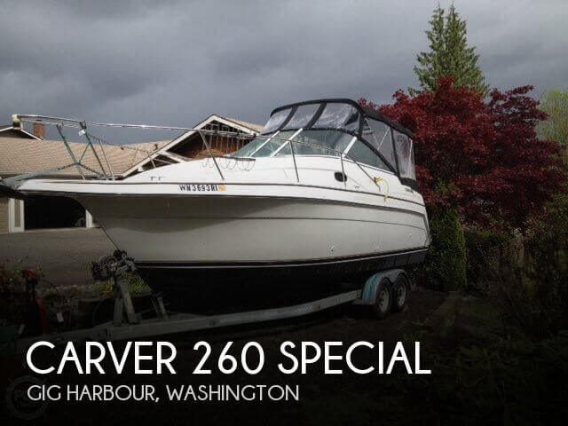 1998 CARVER 260 SPECIAL for sale