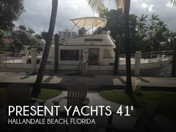 1981 Present Yachts 41 Trunk Trawler