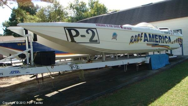 1996 Cobra boat for sale, model of the boat is 36 & Image # 2 of 6