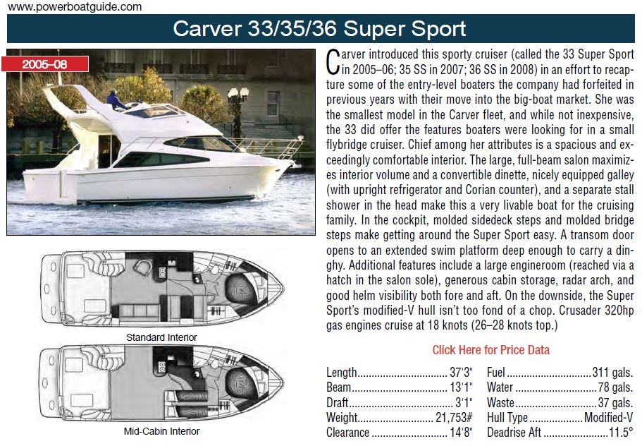 2005 Carver 33 SS - Photo #2