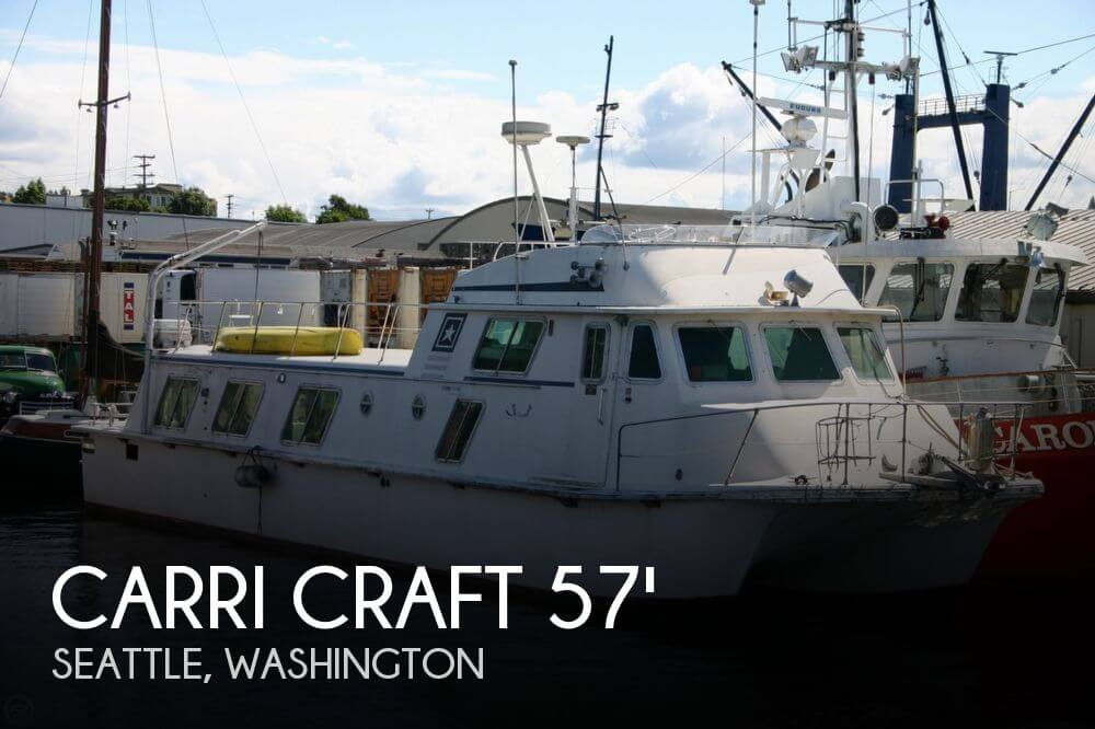 1973 CARRI CRAFT BLUE WATER 57 for sale