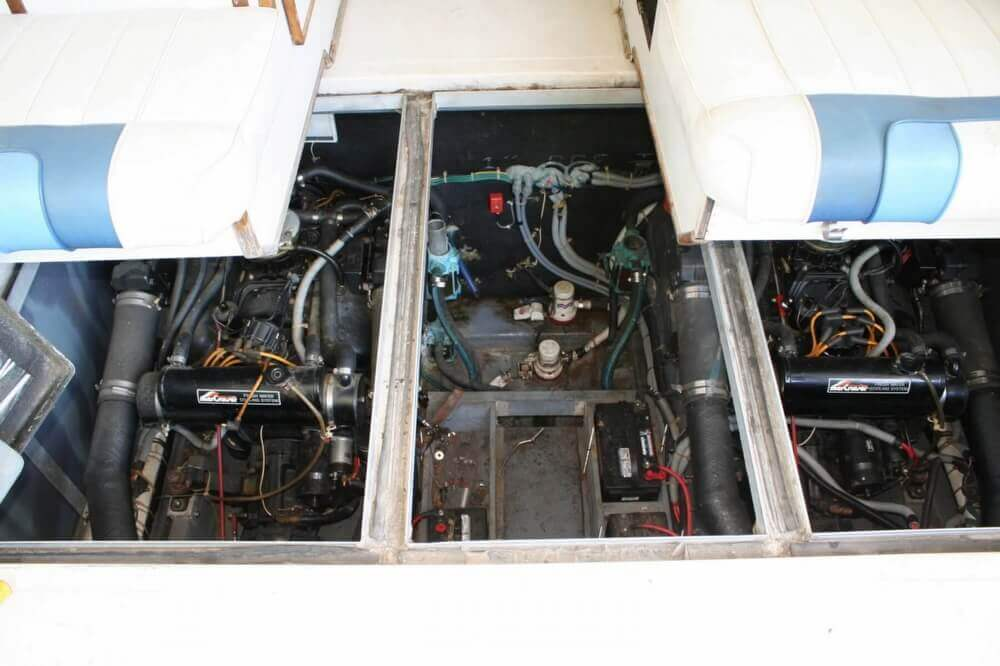 1987 Sea Ray boat for sale, model of the boat is 390 & Image # 26 of 40