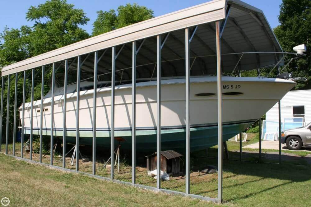 1987 Sea Ray boat for sale, model of the boat is 390 & Image # 36 of 40