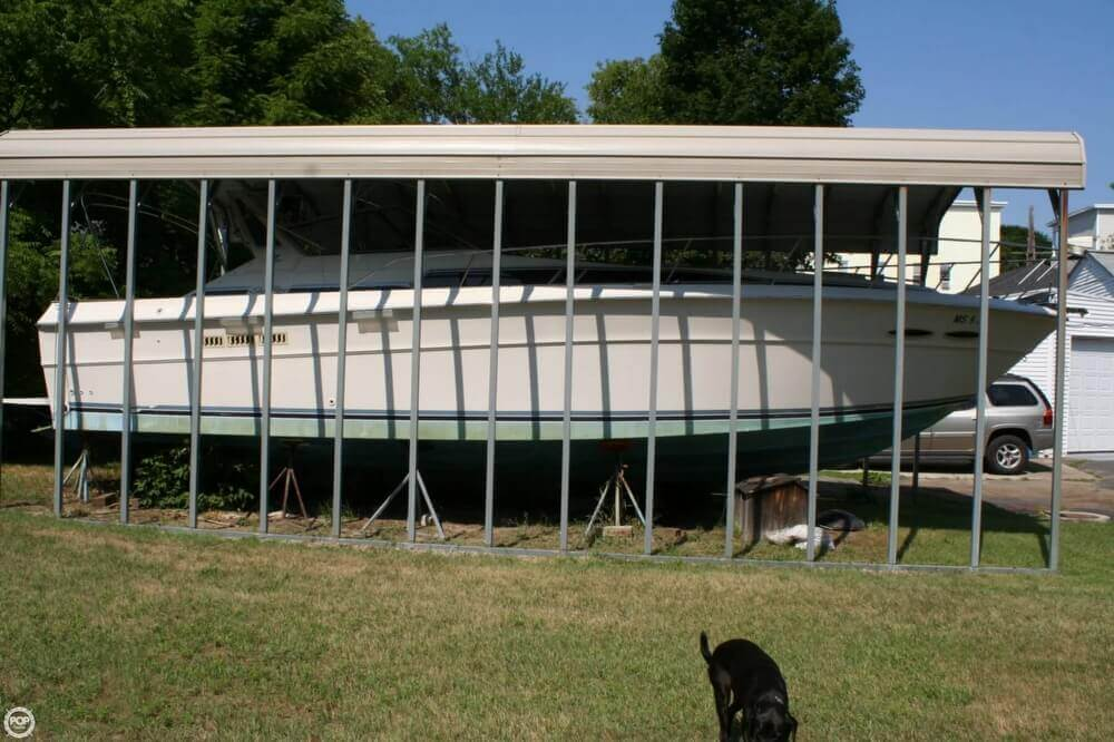 1987 Sea Ray boat for sale, model of the boat is 390 & Image # 37 of 40