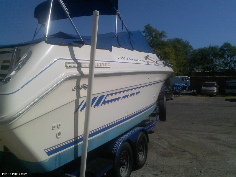 1992 Sea Ray 270 Weekender - Photo #5