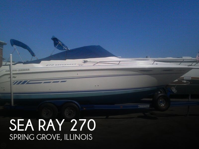 1992 Sea Ray 270 Weekender For Sale