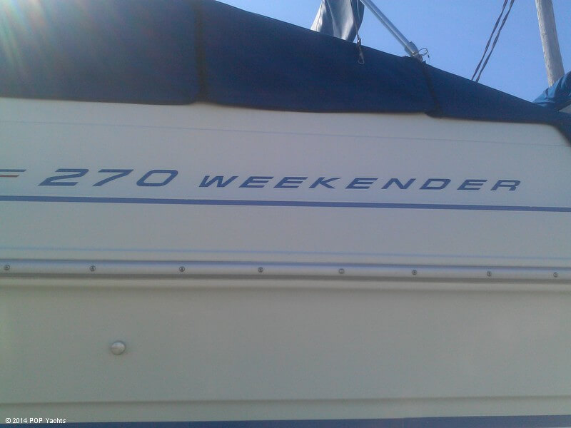 1992 Sea Ray 270 Weekender - Photo #20