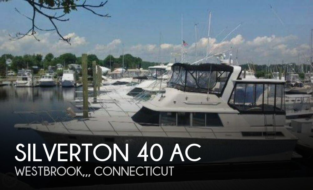 1989 SILVERTON 40 for sale