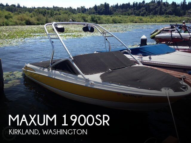 2007 MAXUM 1900SR for sale
