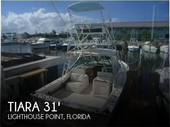 1988 Tiara 31 Open Sportfish - Photo #1