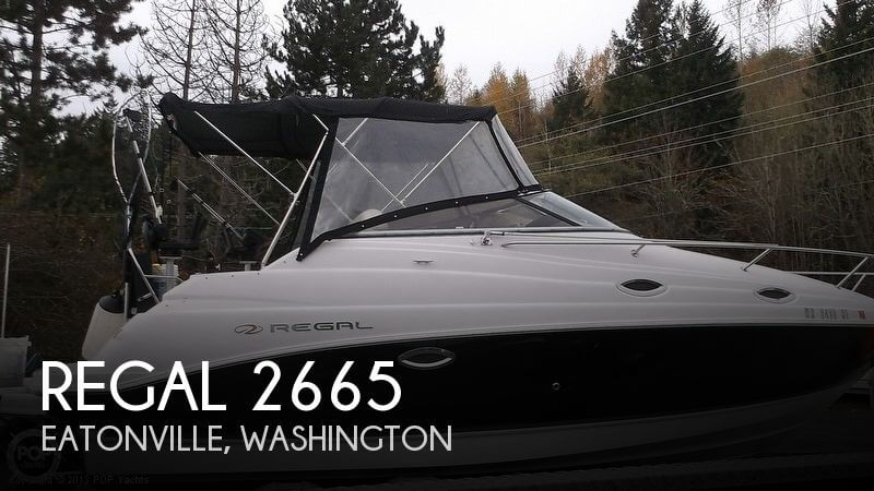 2008 REGAL 2665 for sale