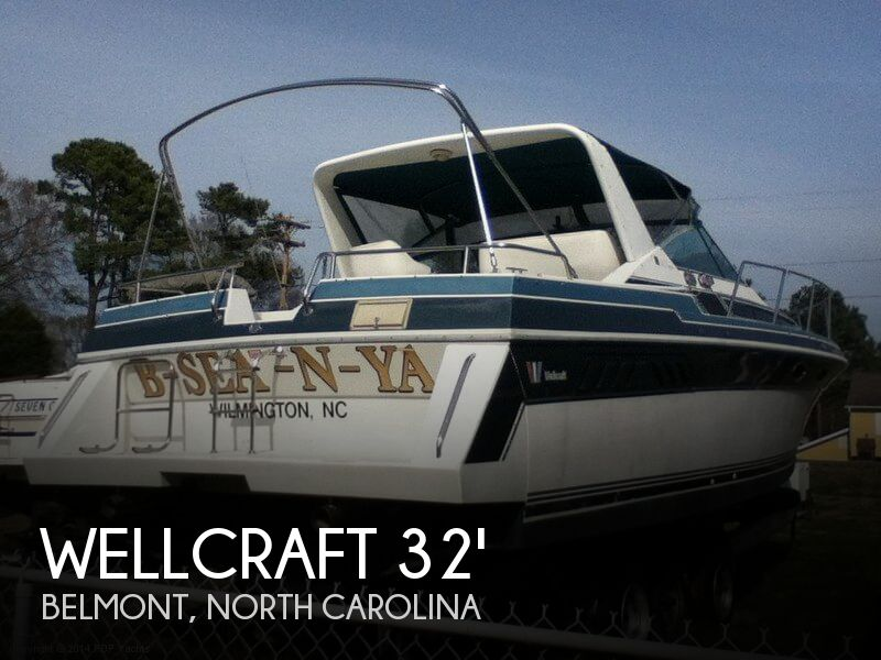1988 Wellcraft boat for sale, model of the boat is 3200 St Tropez & Image # 1 of 40