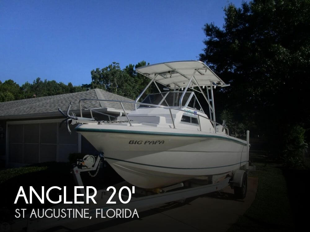 Canceled angler 204 walkaround boat in st augustine fl for Angler fish for sale