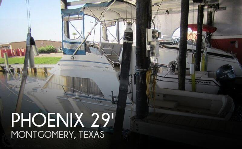 1986 Phoenix 29 Flybridge - Photo #1