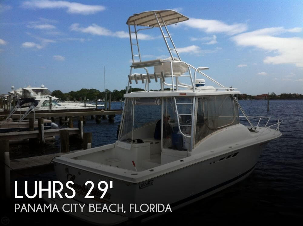 Luhrs 290 open fisherman for sale in panama city beach fl for Panama city florida fishing
