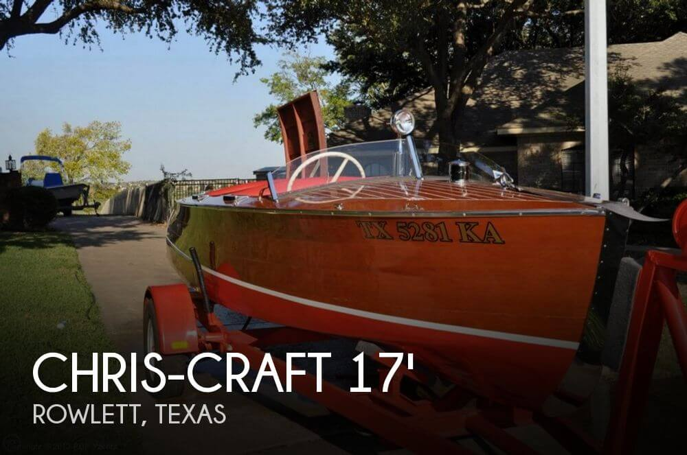 1941 Chris-Craft Runabout 16 Deluxe