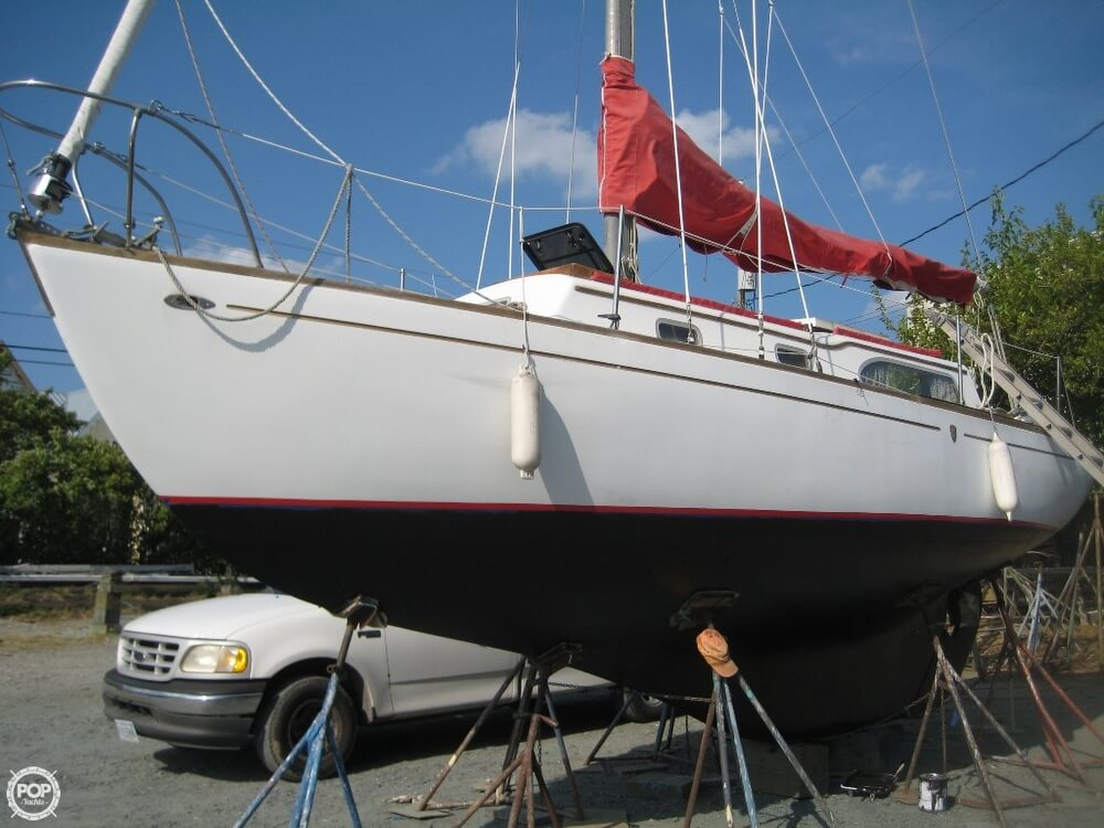 1967 Columbia boat for sale, model of the boat is 29 S & S Mark II & Image # 3 of 40