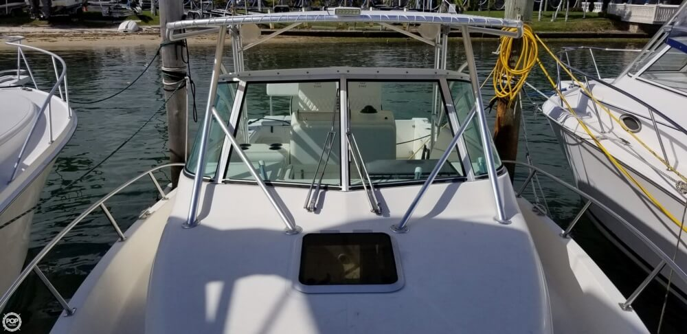 2003 Pursuit boat for sale, model of the boat is 3070 Express & Image # 10 of 40