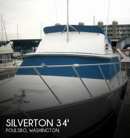 1974 SILVERTON 340 CONVERTIBLE for sale