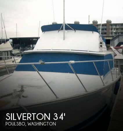 1974 SILVERTON 340 CONVERTIBLE for sale