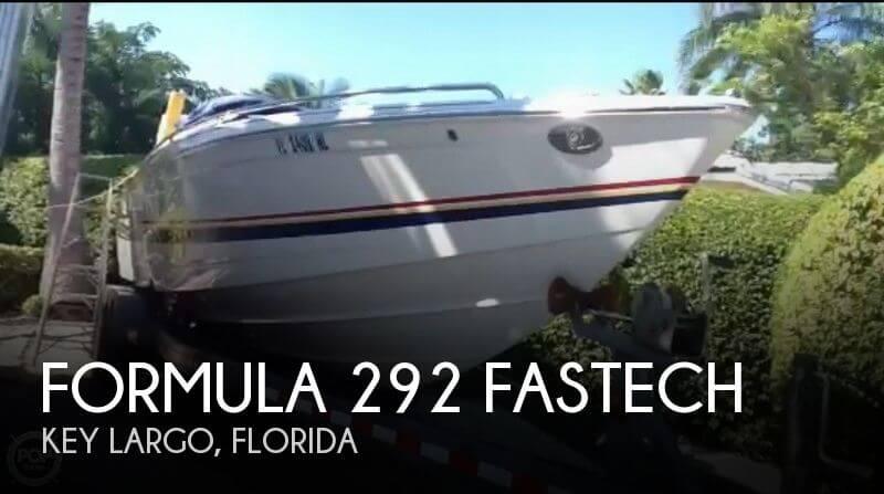 2007 Formula 292 FASTech