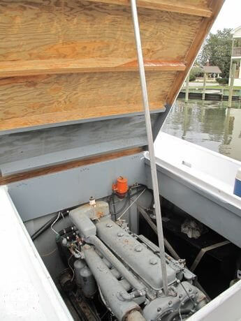 1954 Ambrose Fulcher 34 Round Stern Fishing Boat - Photo #5