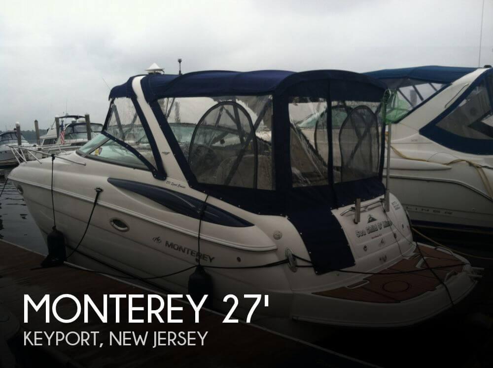 2005 Monterey 270 Sport Cruiser