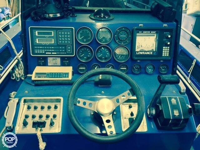 Full Console Loaded With Gauges And Controls