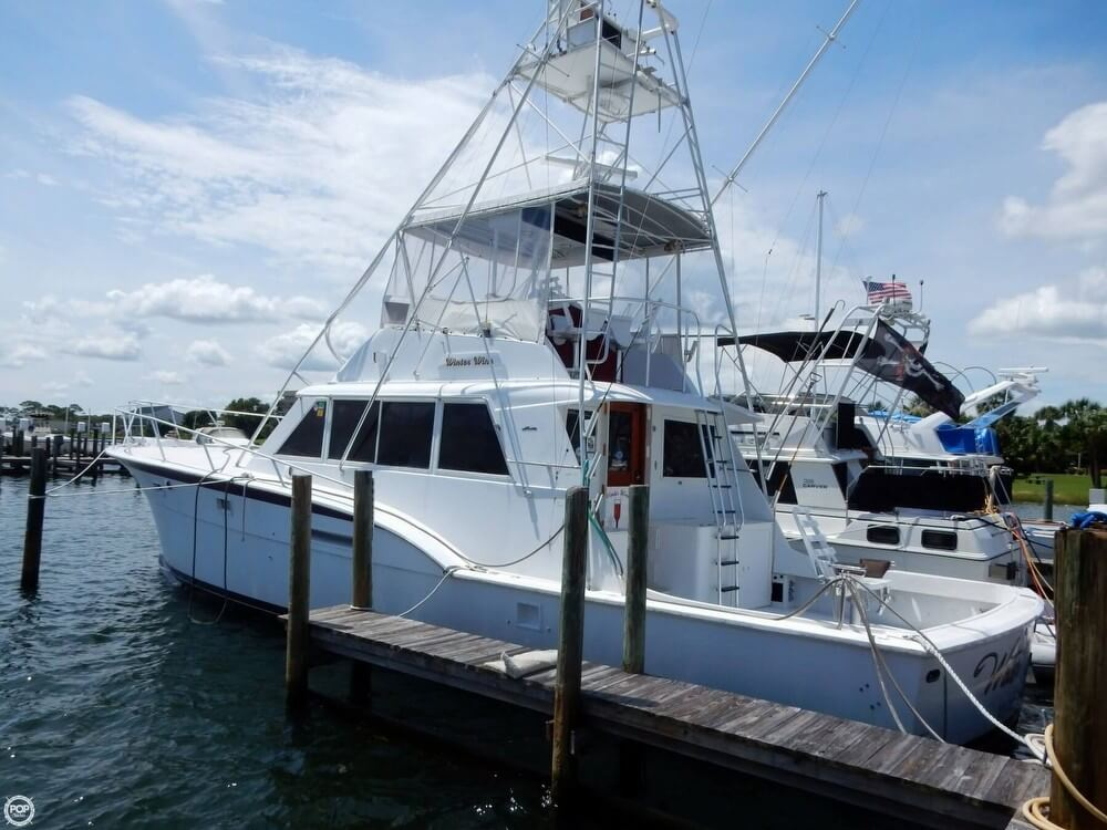 3109676L?2 sold hatteras 53 convertible in ft walton beach, fl pop yachts Hatteras Sportfish 45C at virtualis.co