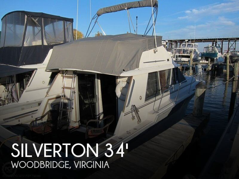 1988 SILVERTON 34 CONVERTIBLE for sale
