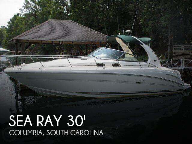 Used Boats For Sale in Columbia, South Carolina by owner | 2002 Sea Ray 30