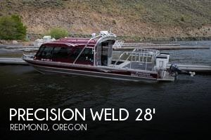 2008 Precision Weld 28 Jet Sled - Photo #1