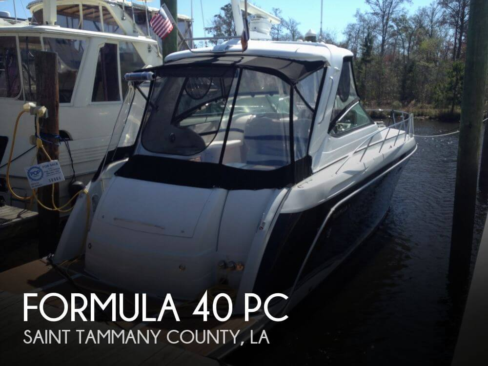 2008 Formula 40 PC - Photo #1