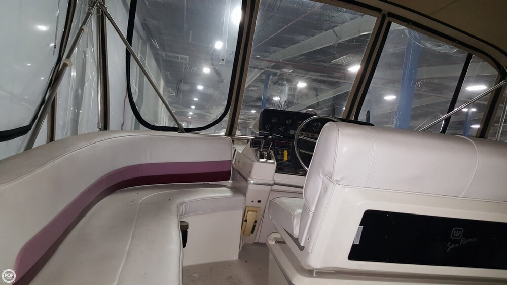 1988 Wellcraft boat for sale, model of the boat is 43 San Remo & Image # 40 of 40
