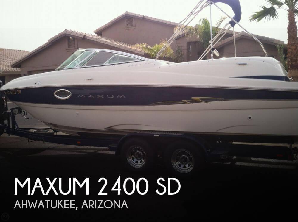 2004 Maxum 2400 SD