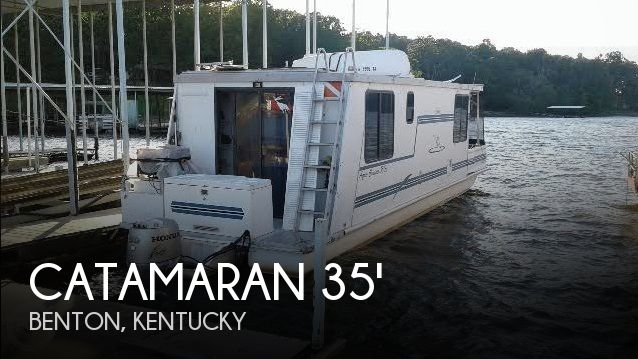 Used Houseboats For Sale in Kentucky by owner | 1999 Catamaran Cruisers 35