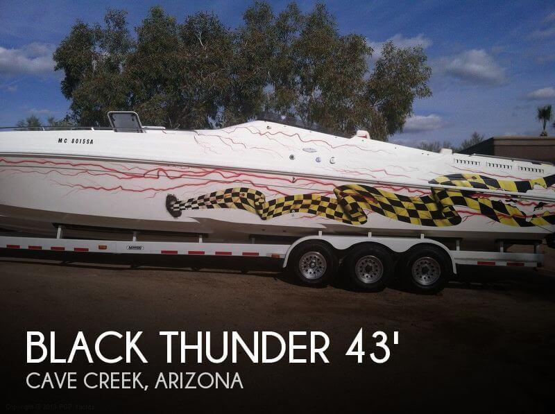 1997 BLACK THUNDER 43 OFFSHORE for sale
