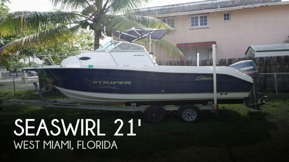 For Sale Used 2004 Seaswirl Striper 2101 Walkaround In