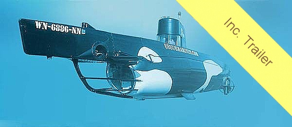 1987 Marlin 32 Diesel Electric S101 Manned Submarine - Photo #22