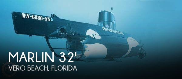 1987 Marlin 32 Diesel Electric S101 Manned Submarine - Photo #1
