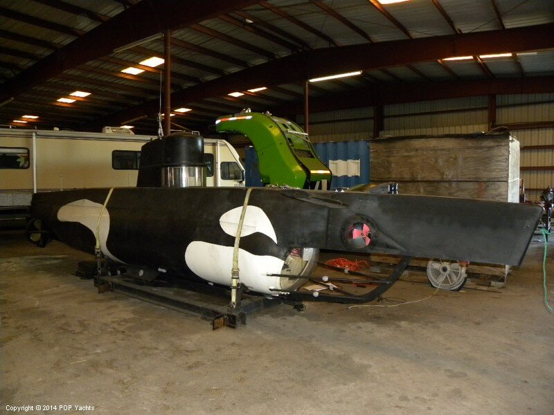 1987 Marlin 32 Diesel Electric S101 Manned Submarine - Photo #26