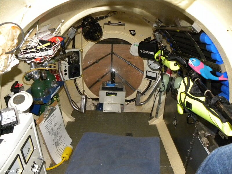 1987 Marlin 32 Diesel Electric S101 Manned Submarine - Photo #32
