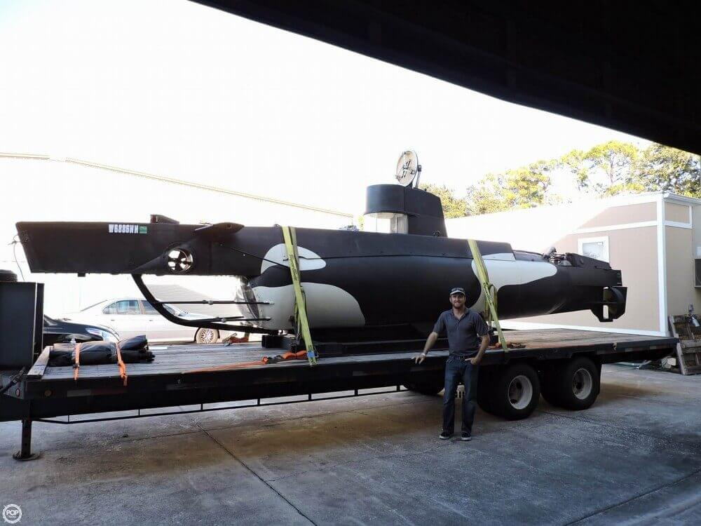 1987 Marlin 32 Diesel Electric S101 Manned Submarine - Photo #25