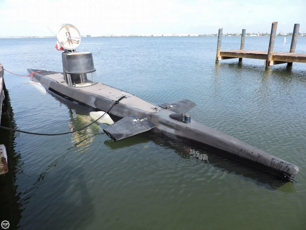 1987 Marlin 32 Diesel Electric S101 Manned Submarine - Photo #19