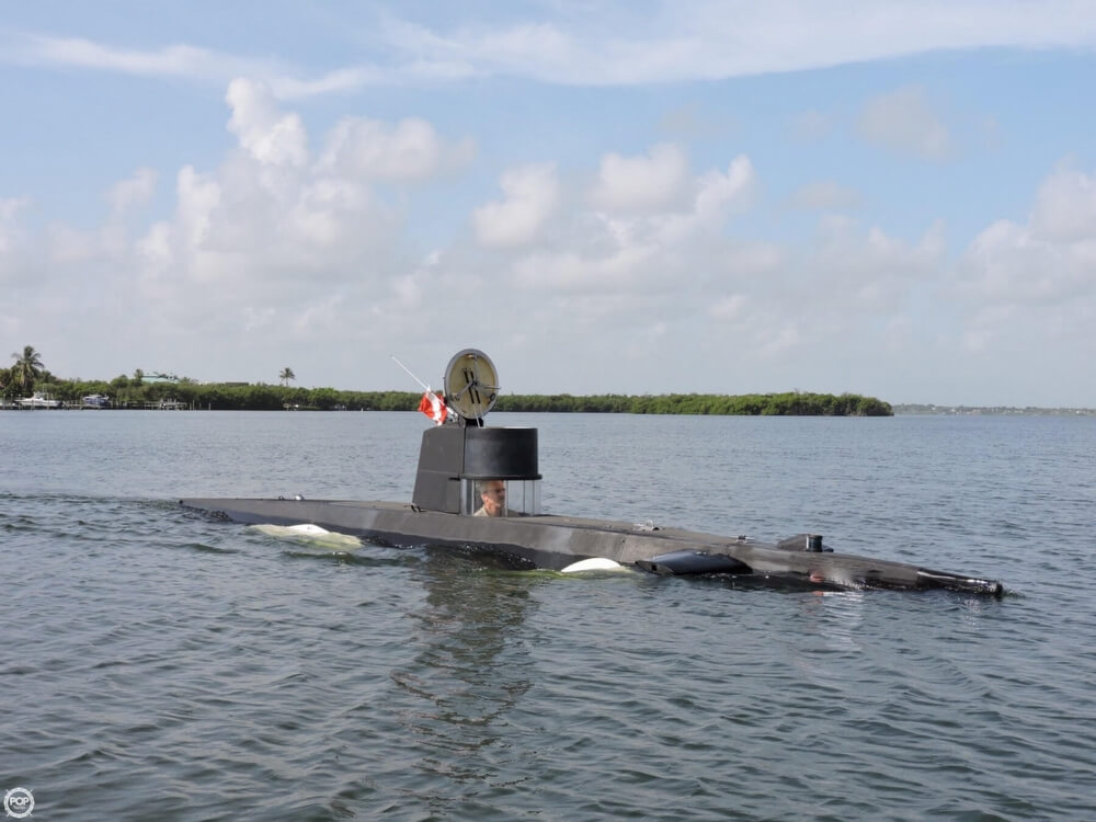 1987 Marlin 32 Diesel Electric S101 Manned Submarine - Photo #21