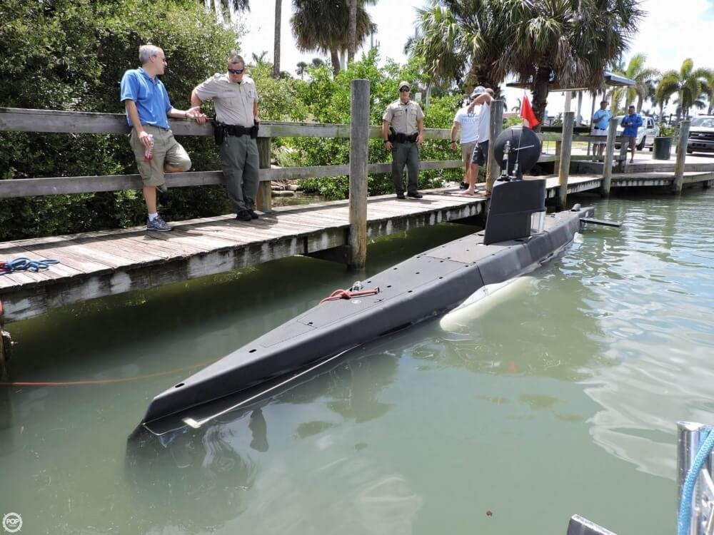 1987 Marlin 32 Diesel Electric S101 Manned Submarine - Photo #9