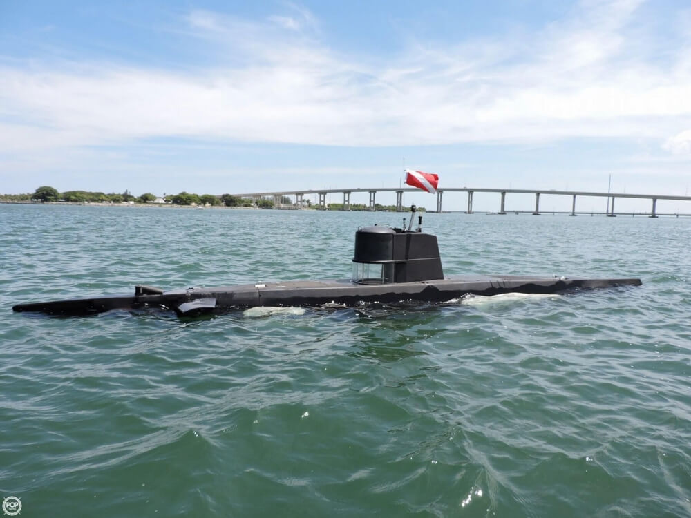 1987 Marlin 32 Diesel Electric S101 Manned Submarine - Photo #17